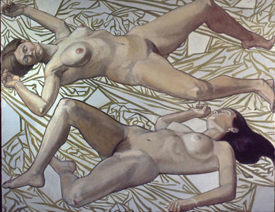 utermohlen-1973-venus and psyche-152x122cm-oil on canvas