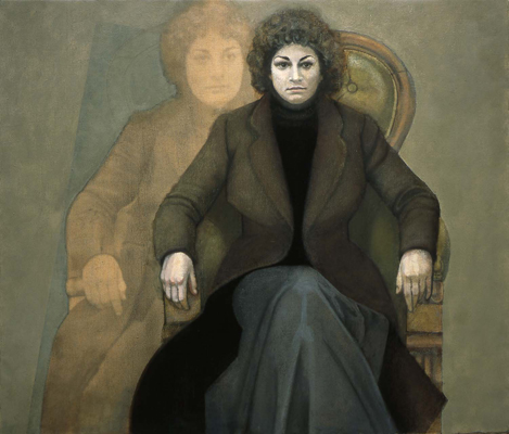 utermohlen-1977-double portrait-oil on canvas-92x106cm