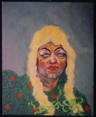 utermohlen-1969-man as woman-oil on canvas-51x40cm-gallery d eendt-71