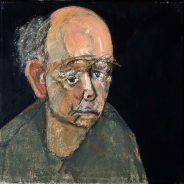 36 self-portrait-green 1996