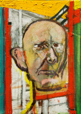 41 self-portrait-with-easel 1998