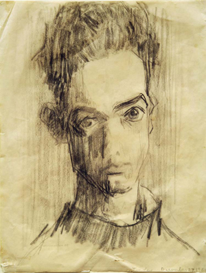 18-utermohlen-1955-self-portrait-pencil-28x21cm-bob