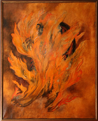 126-utermolhen-1966-ulysses-to-diomedes-canto26-152x122cm-oiloncanvas